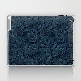 Meredith Paisley - Navy Laptop & iPad Skin