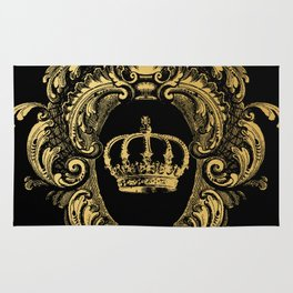 Gold Crown Rug