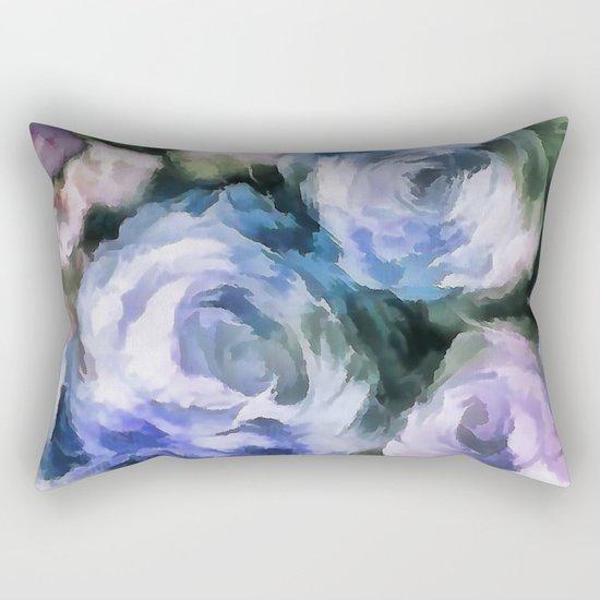 Blue rose. Rectangular Pillow