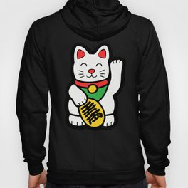 Lucky Cat Pattern Hoody
