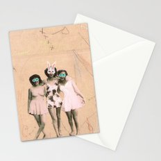 Imaginary Friends- Playmates Stationery Cards