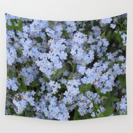 Forget Me Nots Wall Tapestry