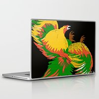 rooster Laptop & iPad Skins featuring Rooster by Saundra Myles