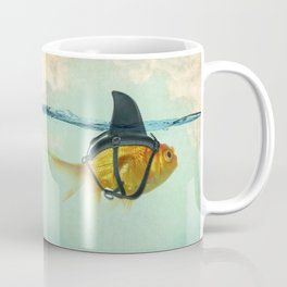 Brilliant DISGUISE - Goldfish with a Shark Fin Coffee Mug