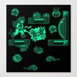 Metroid - Samus Aran Canvas Print
