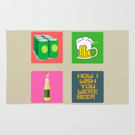 How I Wish You Were A Beer Rug