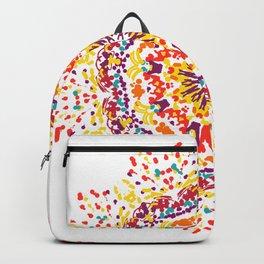 Mandala Flower 15 Backpack