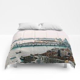 December Sunset, Venice Comforters
