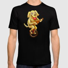 Tidus the Dog Black Mens Fitted Tee SMALL