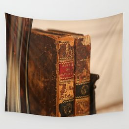 Antique books - ver 2 Wall Tapestry