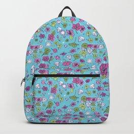 Flowers, Clovers & Diamonds Backpack