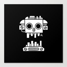 Mechanical Jolly Roger - PM Canvas Print