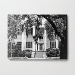 Charleston, South Carolina Plantation House Metal Print