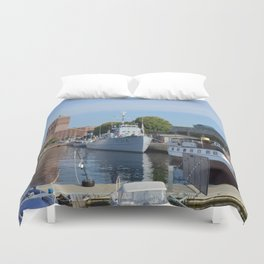 Minesweeper Alta In Oslo Duvet Cover