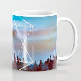 The Elements Geometric Nature Element of Air Coffee Mug