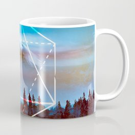 The Elements Geometric Nature Element of Air Coffee Mug