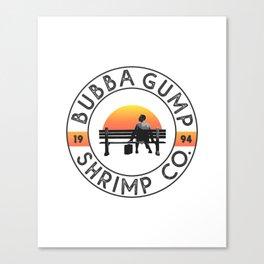 Bubba Gump Shrimp Company Canvas Print