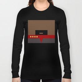 Captain Sisko - Minimalist Star Trek DS9 Deep Space Nine - Trektangle - Trektangles startrek Long Sleeve T-shirt