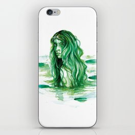 Frog Princess Sea Witch iPhone Skin