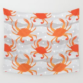 Lets Eat Some Crabs! Wall Tapestry