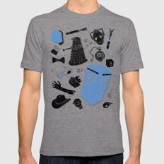 Artifacts: Doctor Who Mens Fitted Tee X-LARGE Tri-Grey