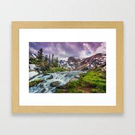 Lake Isabelle Framed Art Print