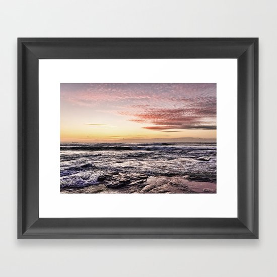 When the light is just right  Framed Art Print