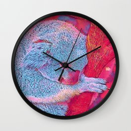 Popular Animals - Koala Wall Clock