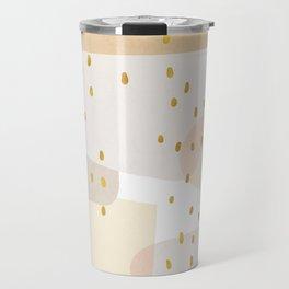 Conglomeration in Cream Travel Mug
