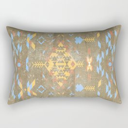 Native Aztec Rectangular Pillow