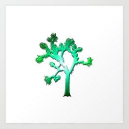Joshua Tree Verdant by CREYES Art Print