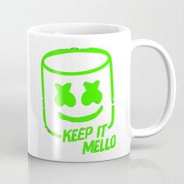 Marshmello - Keep It Mello Green Coffee Mug
