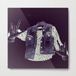 Fashion Ghost Metal Print