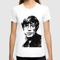 stephen king T-shirts featuring Stephen Hawking by Silvio Ledbetter