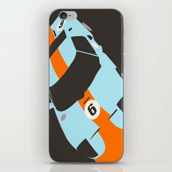 Orange Notch - Ford GT40 Race Car iPhone & iPod Skin