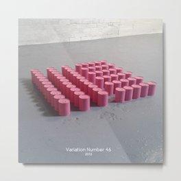 Variation Number 46 (photo) Metal Print
