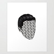 black lodge coop Art Print