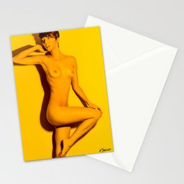 5760 Natasha Au Naturel - Boudoir Eros Studio Beauty Nude Stationery Cards