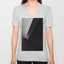 History of Art in Black and White. Minimalism Unisex V-Neck