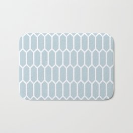 Chilly Blue Frost Bath Mat
