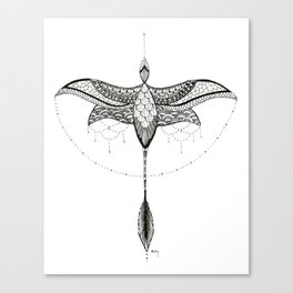 Microraptor 1 Canvas Print