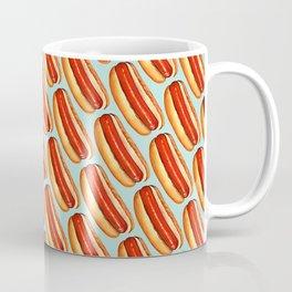 Hot Dog Pattern Coffee Mug