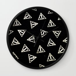 Deathly Harry Wall Clock