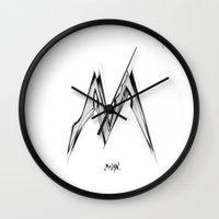 milan Wall Clocks featuring MILAN by  Ashley Tobin Design