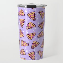 Pizza Magic // Purple Travel Mug