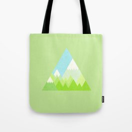 national park geometric pattern Tote Bag