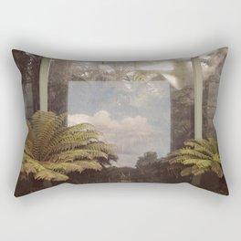 Sky in Glasshouse Rectangular Pillow