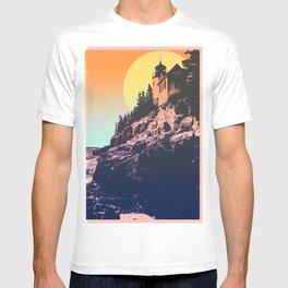 BASS HARBOR LIGHTHOUSE SUN T-shirt