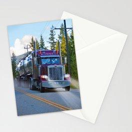 Trans Canada Trucker Stationery Cards