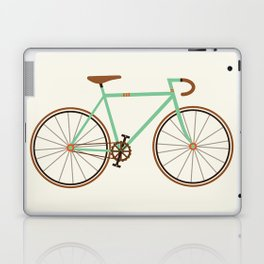 Green Fixie Laptop & iPad Skin